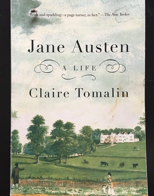 Author Claire Tomalin published Jane Austen: A Life in 1997. Her biographies delve into the inner lives and imaginations of her subjects, which also include Charles Dickens, and Mary Wollstonecraft