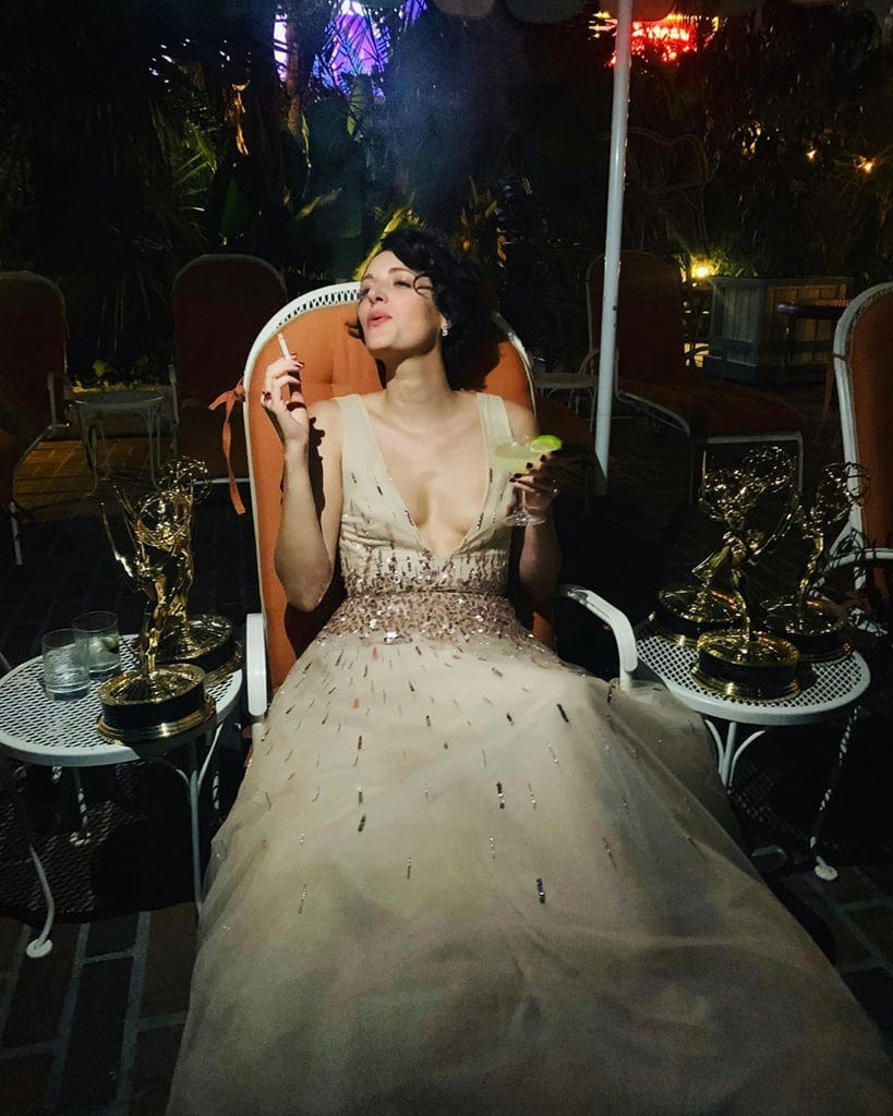 Phoebe Waller-Bridge Basks in Her Emmy Wins in Epic Photo