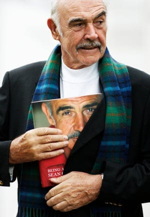 Sir Sean Connery launches his book Being A Scot at the Edinburgh international book festival in 2008