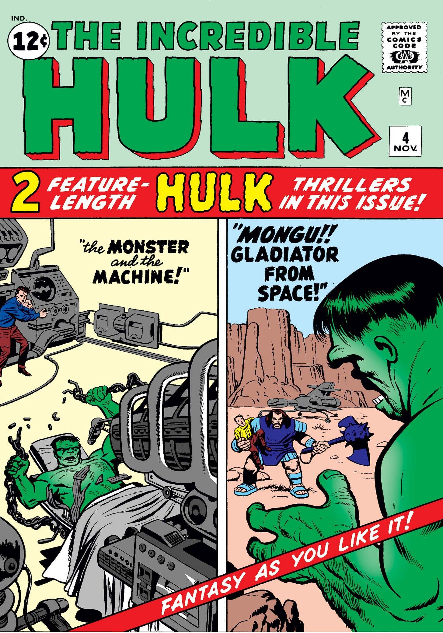 Incredible Hulk (1962) #4   Comic Issues   Marvel