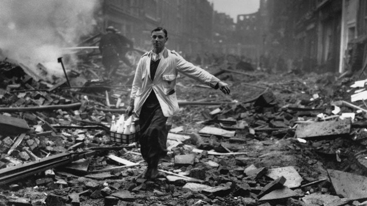 The Milkman: The Story behind One of the Most Iconic Images of the Blitz