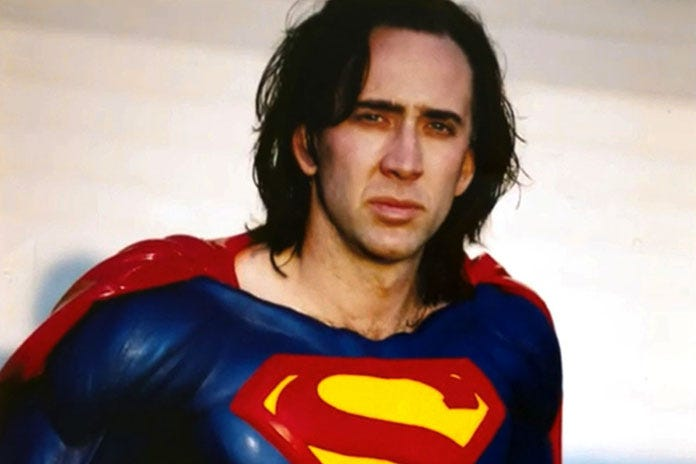 Cage Was Invited To Play Superman In Crisis
