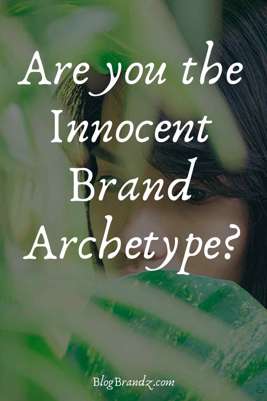 Brand Archetype Innocent