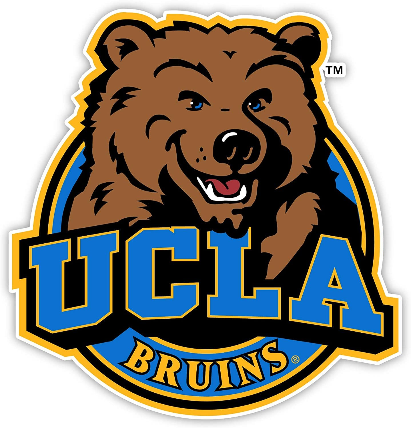 Amazon.com: UCLA Bruins 4 Inch Vinyl Mascot Decal Sticker: Kitchen ...