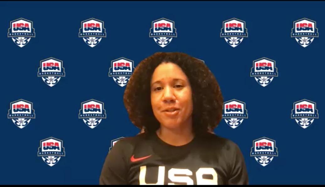 Kara Lawson. (USA Basketball screenshot)