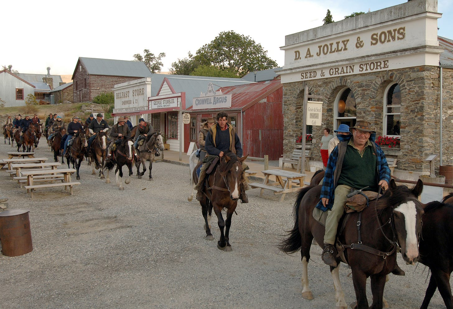 The Cavalcade is Coming to Town | Old Cromwell Town