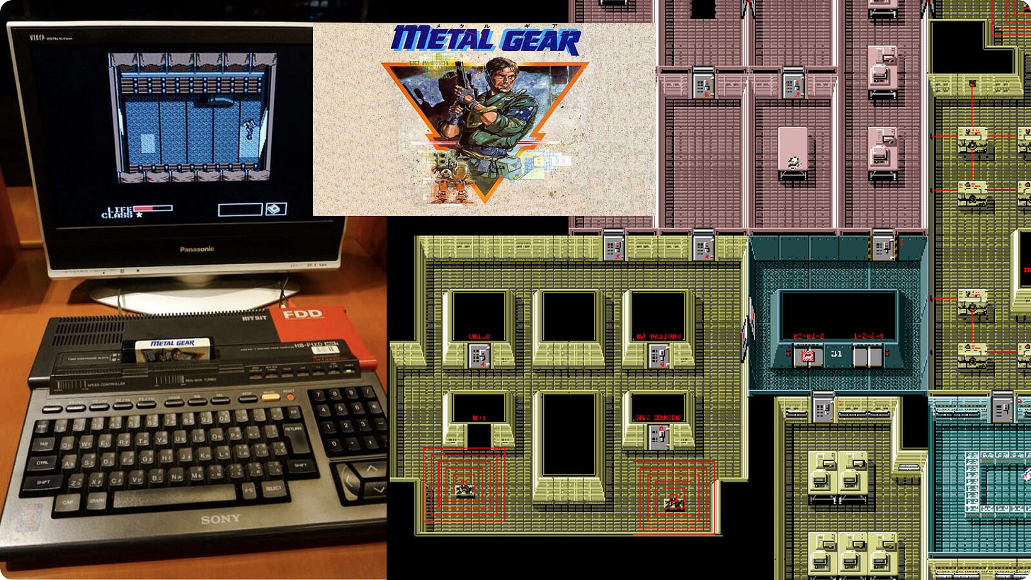 Metal Gear and MSX
