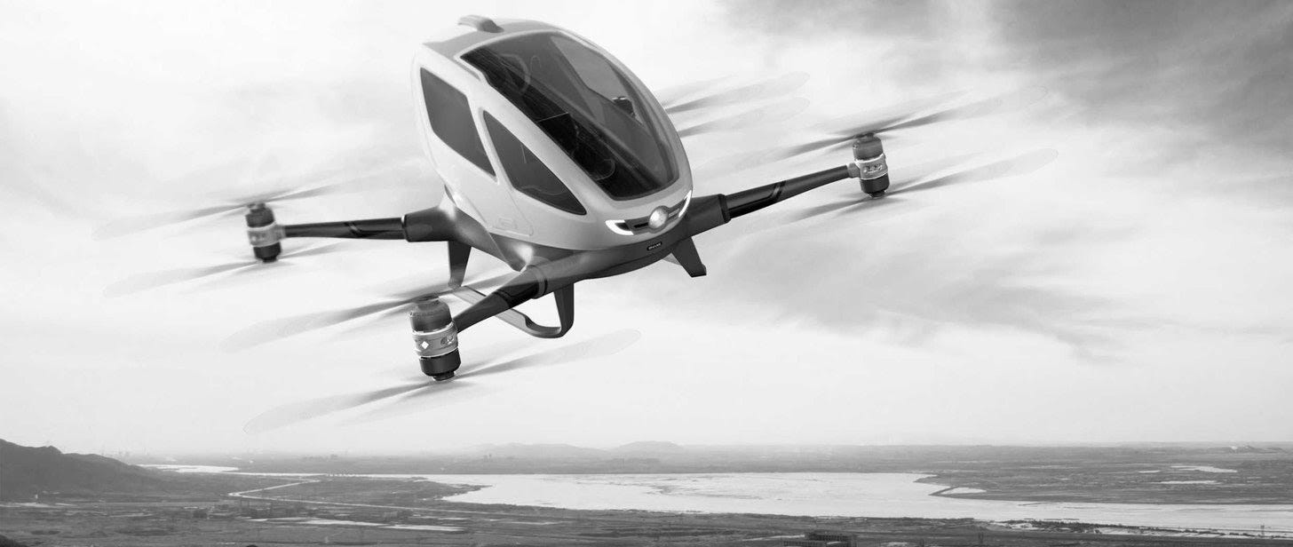 VTOL Aircraft (Flying Air Taxi) is Newest Form of Personal Transportation