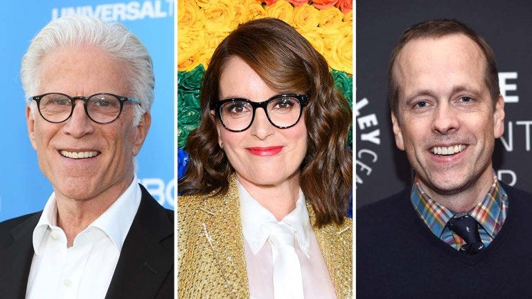The project from Fey and producing partner Robert Carlock will feature 'The Good Place' star as the mayor of Los Angeles.