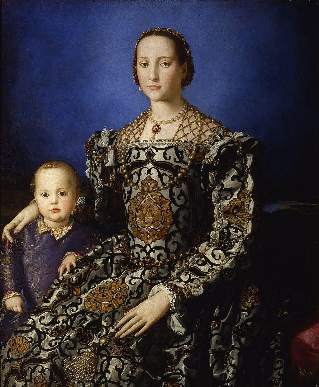 Bronzino - Eleonora di Toledo col figlio Giovanni - Google Art Project.jpg