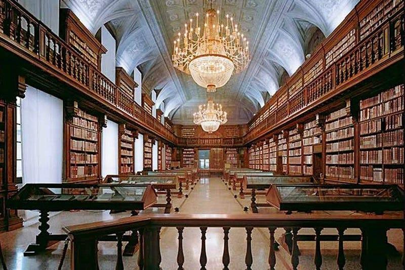 Biblioteca Nazionale Braidense: Milano ai tempi di Maria Teresa
