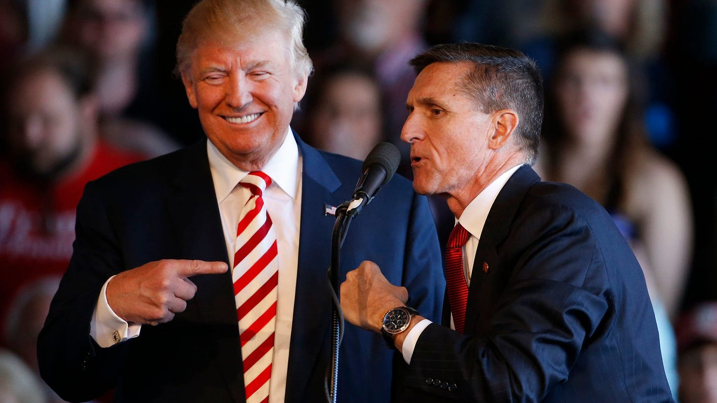 Trump says FBI notes exonerate Michael Flynn, analysts disagree