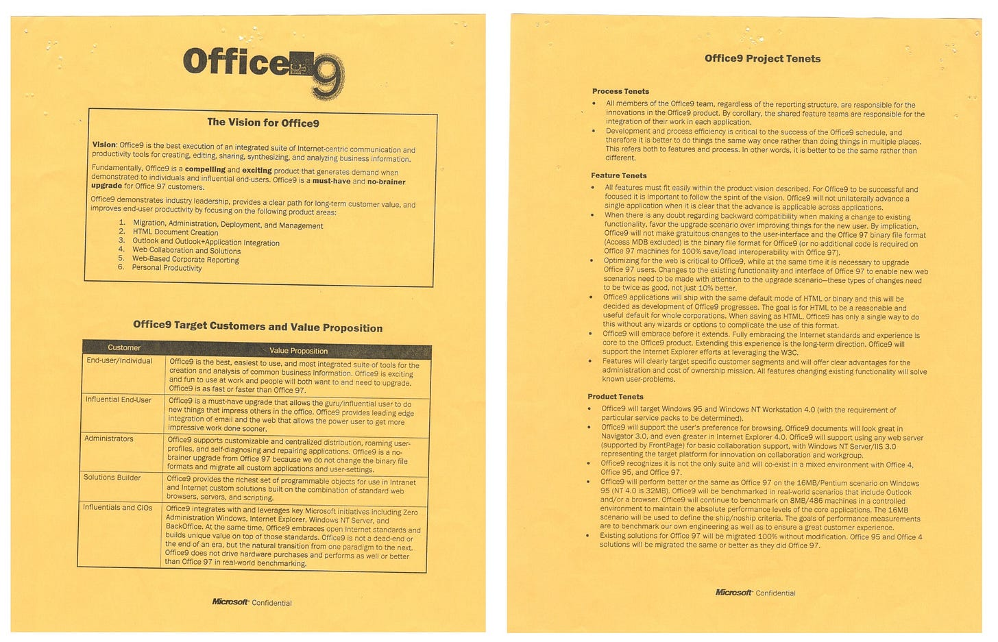 Office9 Cheat Sheet - scanned image