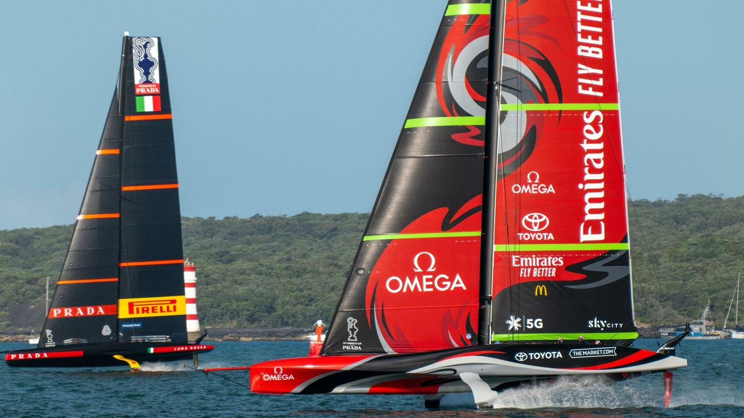 36th America's Cup Match: Emirates Team New Zealand face Luna Rossa Prada  Pirelli | Sailing News | Sky Sports