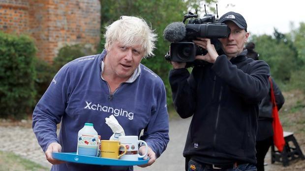 El descuidado aspecto de Boris Johnson