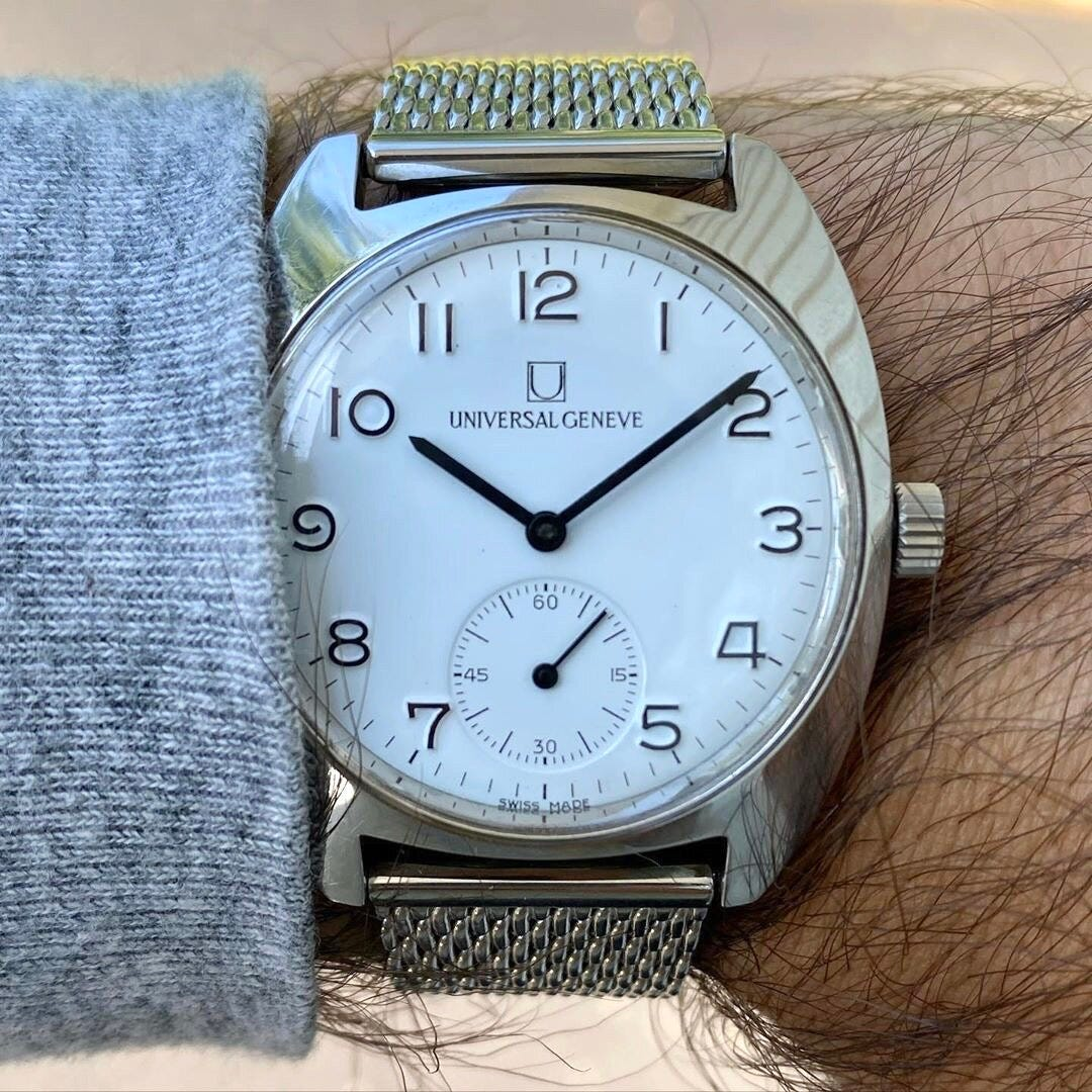 Universal Geneve FS Second Series | Photo courtesy of Michael (@ ctwatchguy )