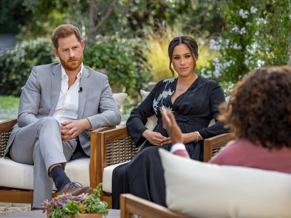 Meghan Markle and Prince Harry described racism within the royal family during the interview with Oprah Winfrey.