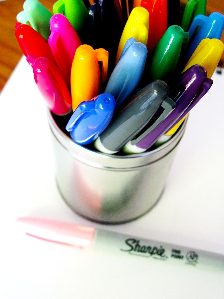 """""""Sharpie-Markers"""" by Hello Angel Creative is licensed under CC BY-NC-ND 2.0"""