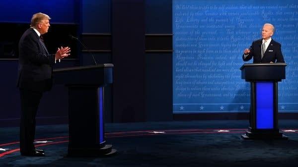 Live coverage: Trump and Biden's 1st presidential debate | MPR News
