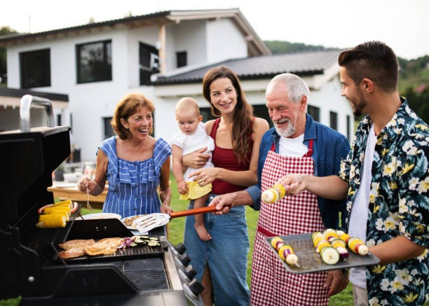 11,889 Family Bbq Stock Photos, Pictures & Royalty-Free Images - iStock