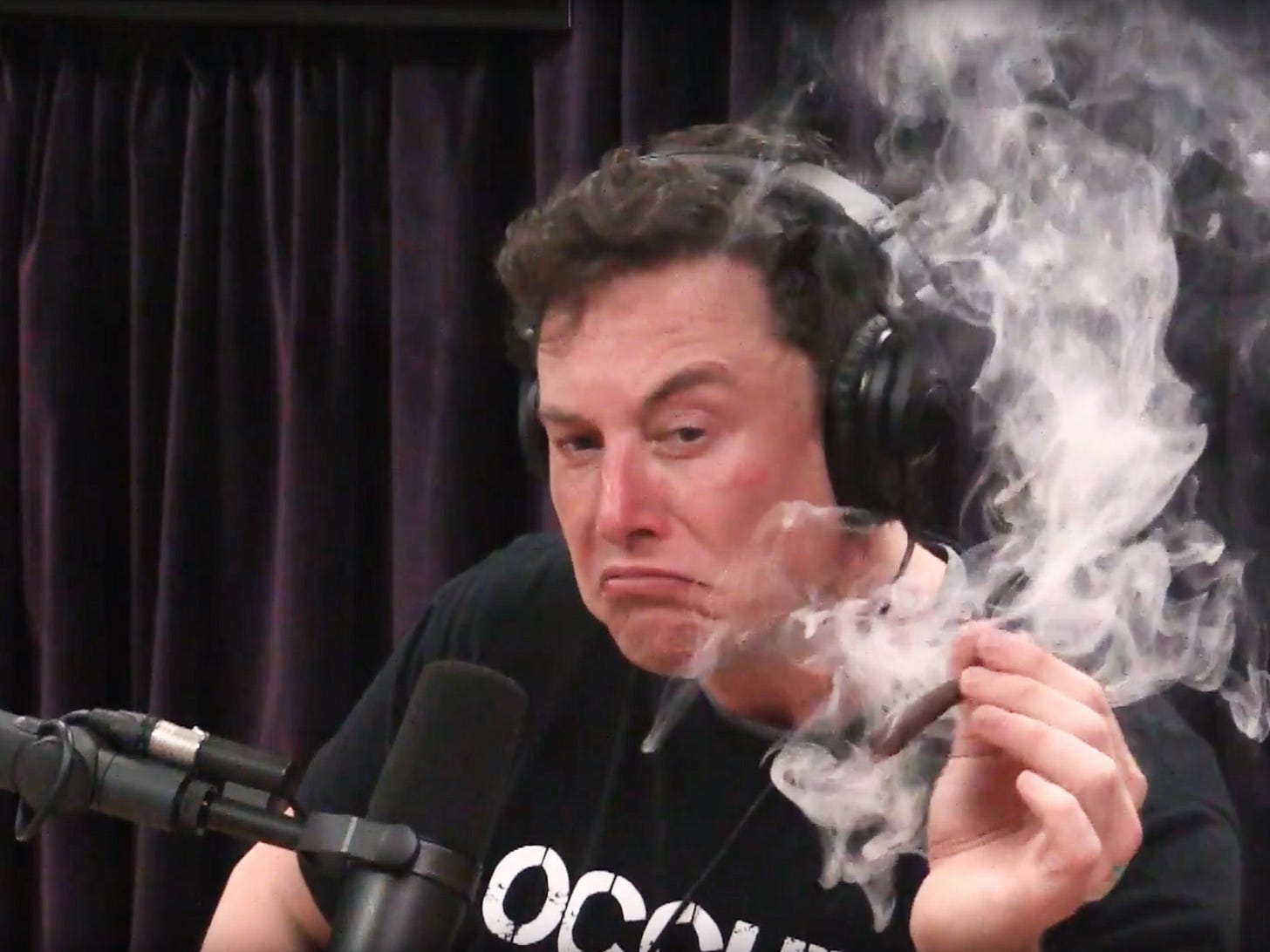 Elon Musk's Weed-Toking Goodwill Tour Isn't Enough to Save Tesla   WIRED