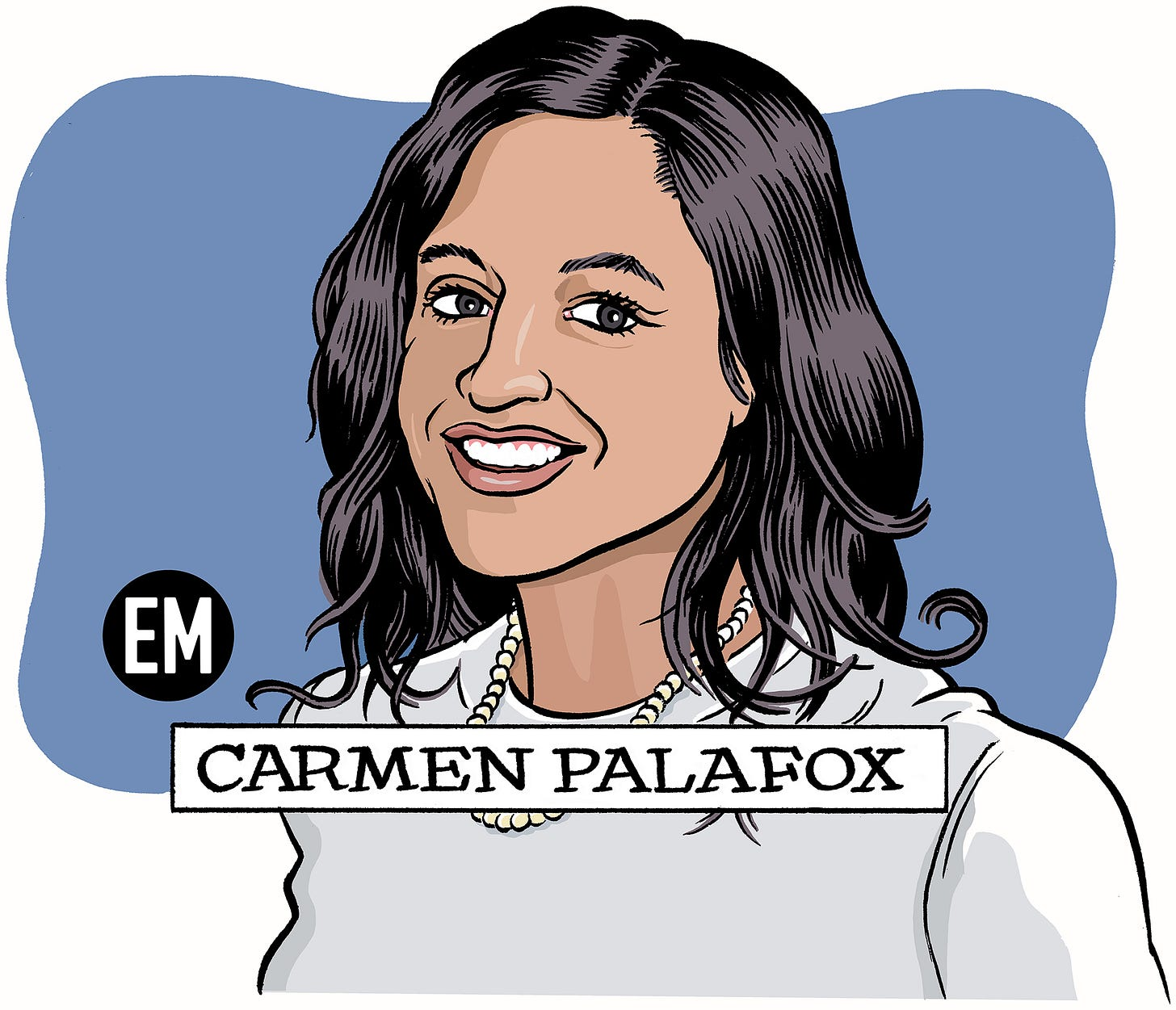 Carmen Palafox by David Coulson for the Emerging Manager, 2021