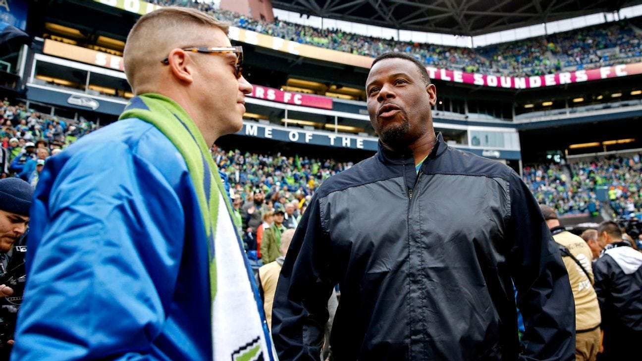 MLB legend Ken Griffey Jr. joins Seattle Sounders ownership group