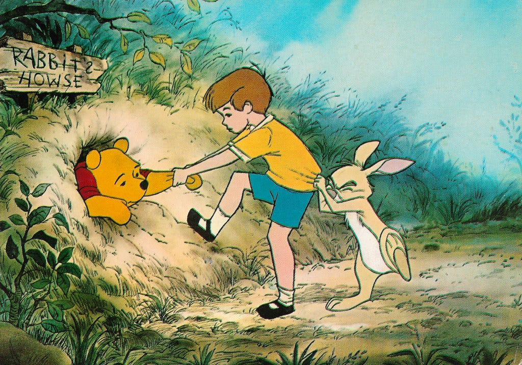 The Many Adventures of Winnie the Pooh (1977) | French postc… | Flickr