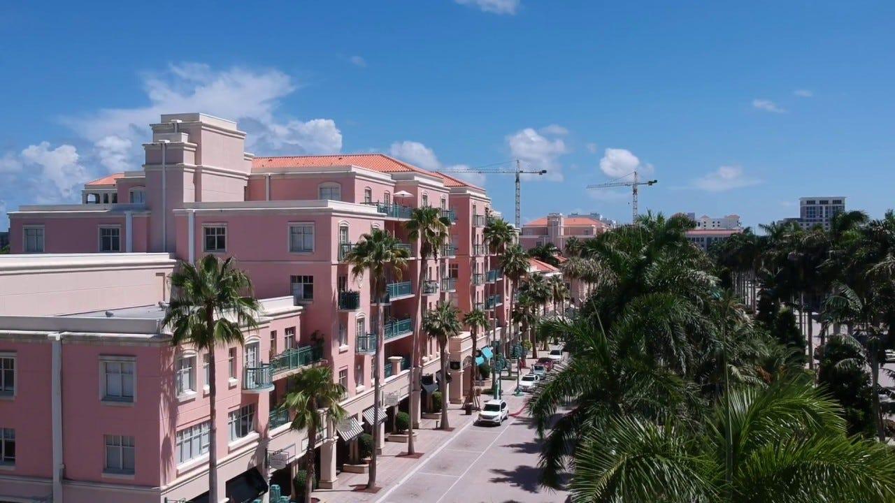 Mizner Park - Boca Raton, FL (DJI Spark Footage) - YouTube