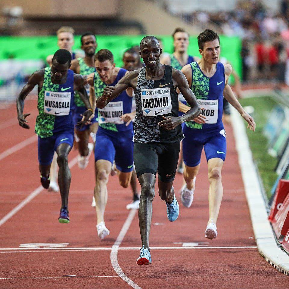 Monaco: Hassan Breaks Women's Mile WORLD RECORD With 4:12.33 ...