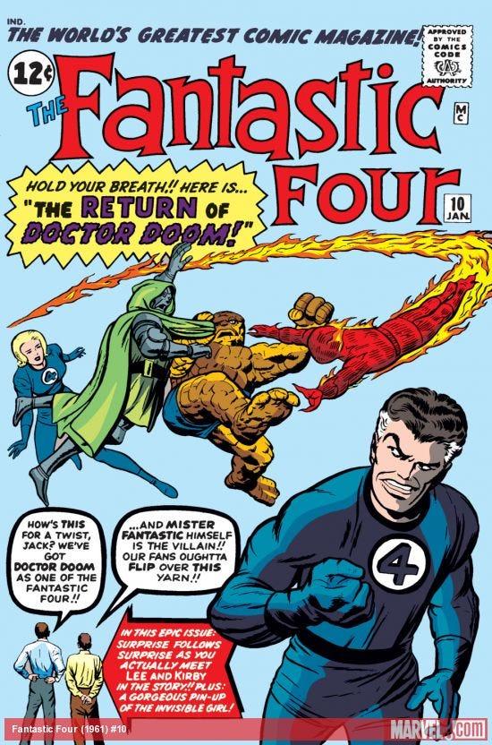 Fantastic Four (1961) #10   Comic Issues   Marvel