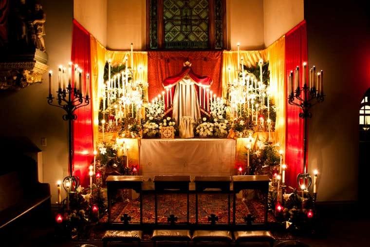 Image result for holy thursday altar of repose