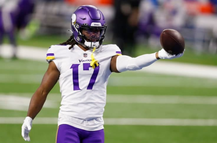 Vikings raving about young receiver, but it's not the guy you think it is