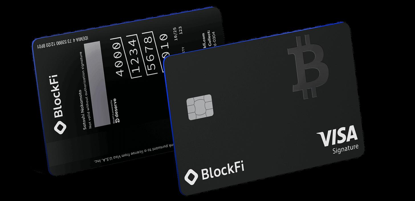 BlockFi Visa Card