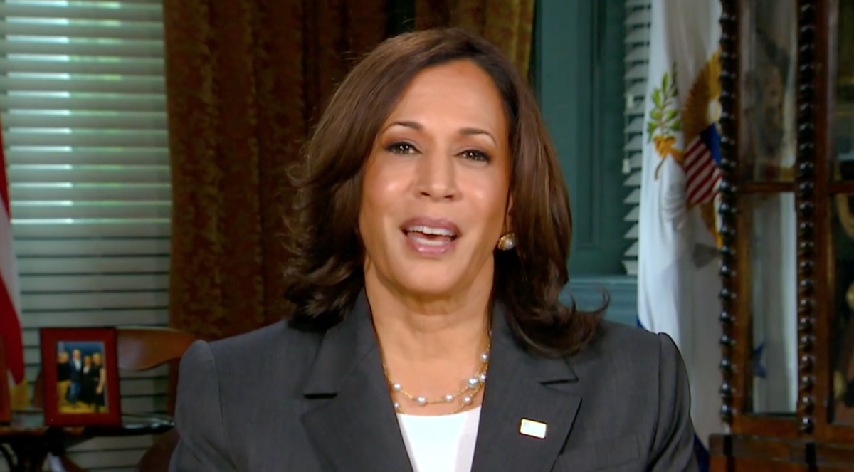 Kamala Harris says 'America not a racist country' in first interview after  joint address   The Independent