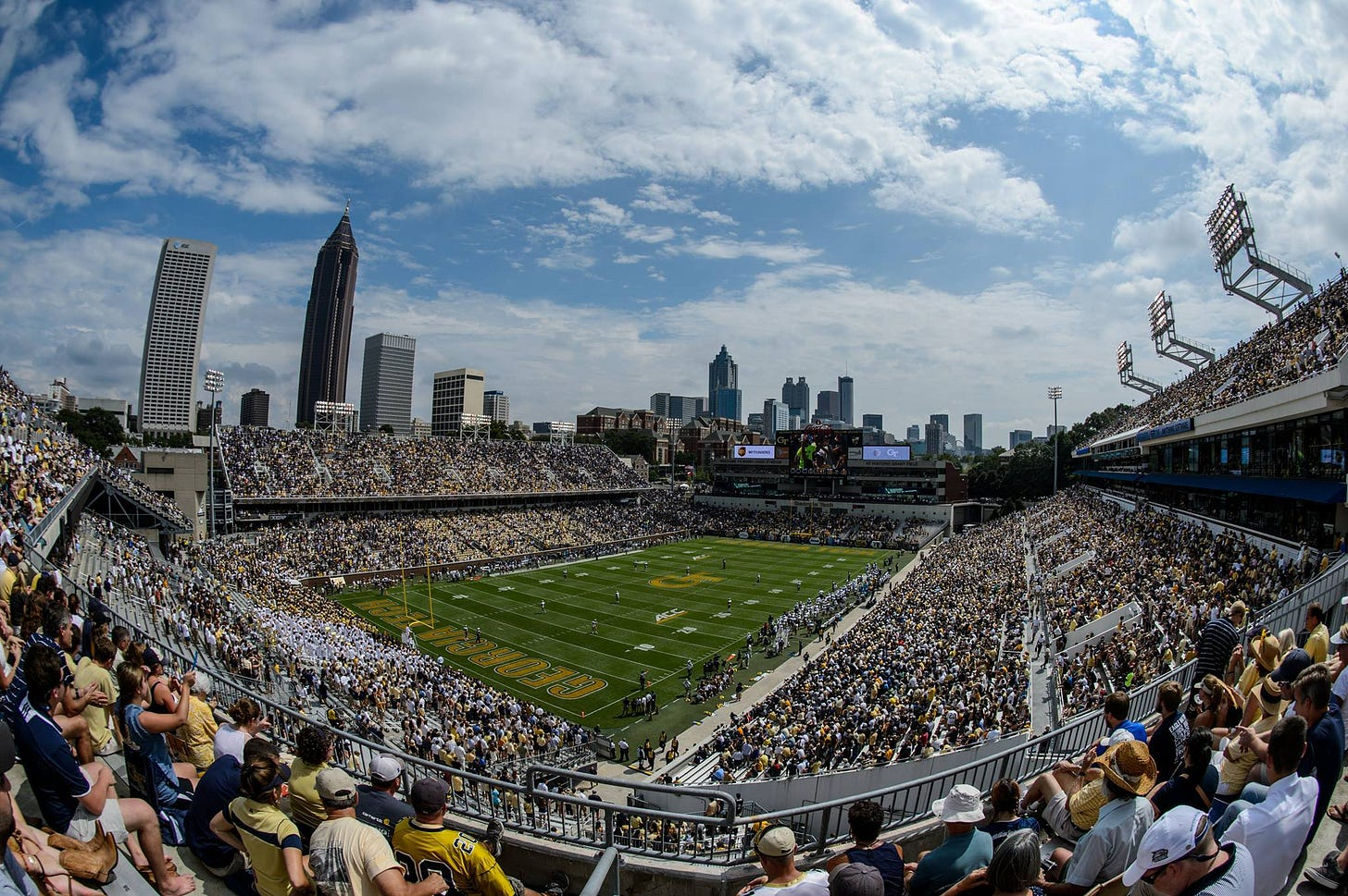 Image result for bobby dodd stadium""