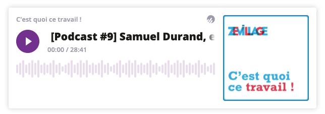 Player podcasts de Zevillage