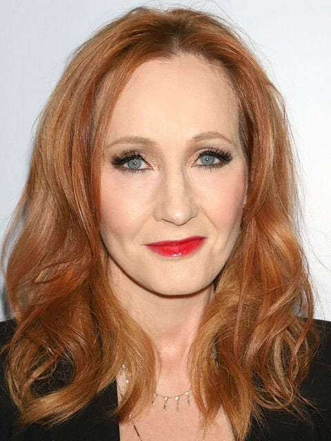 A recent picture of JK Rowling.