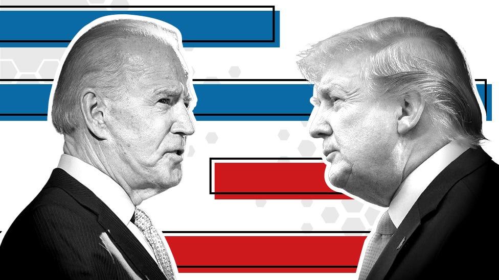US election 2020 polls: Who is ahead - Trump or Biden? - BBC News