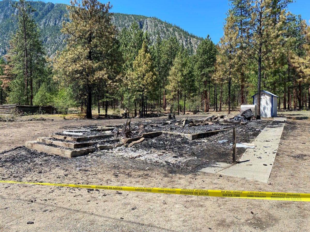 The Chopaka Catholic Church on the Lower Similkameen Indian Band (LSIB) burned to the ground early Saturday morning.