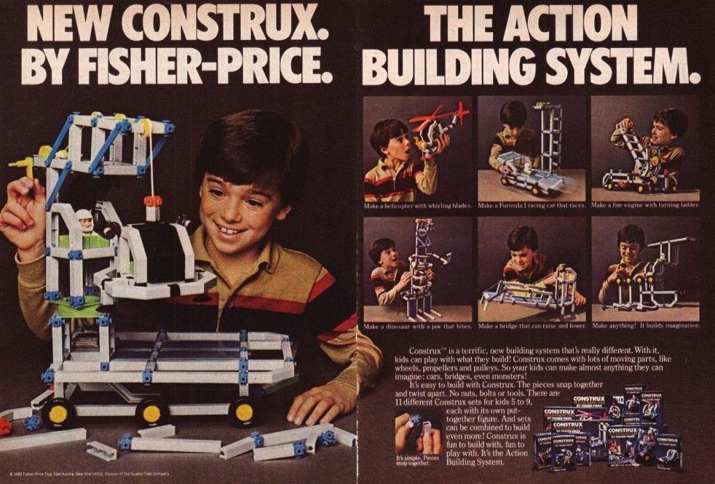 Construx | Kickin it old school, Nostalgia, Kids playing