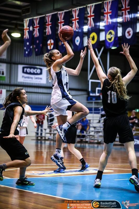 Anneli Maley | Credit: Kangaroo Photography and Basketball Australia