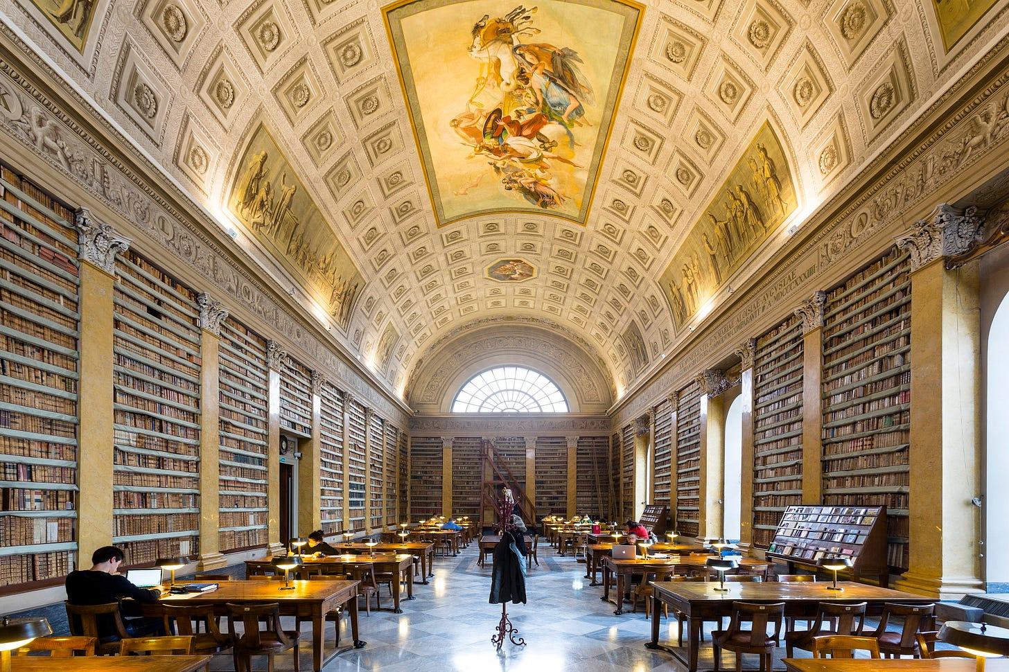 Biblioteca Palatina - Complesso Monumentale della Pilotta