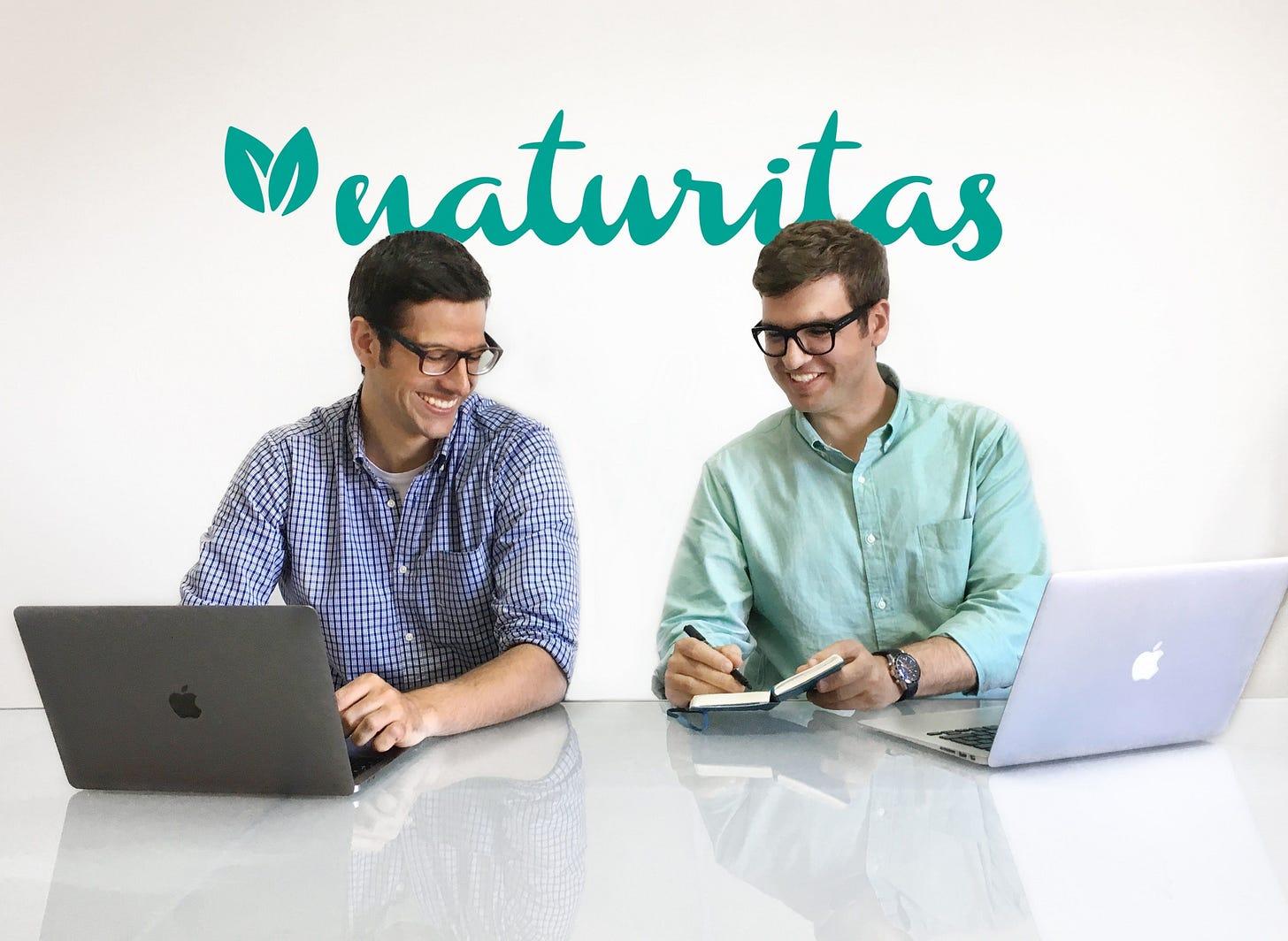 Los fundadores de Naturitas, Esteban Humet y Josep Casas | EP