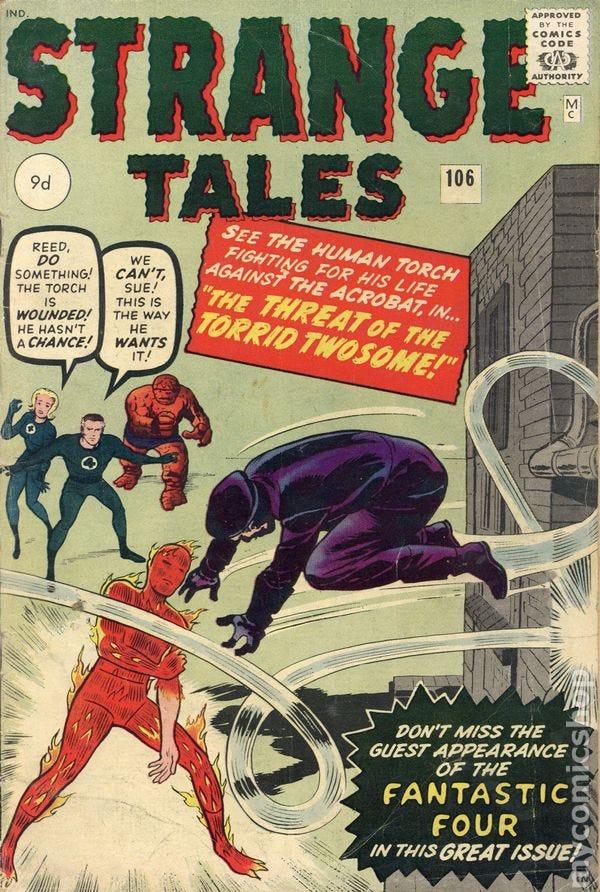 Strange Tales comic books issue 106