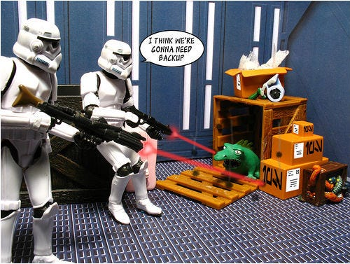 A Day in the Life of a Stormtrooper! - Funny Inspiration | Bit Rebels