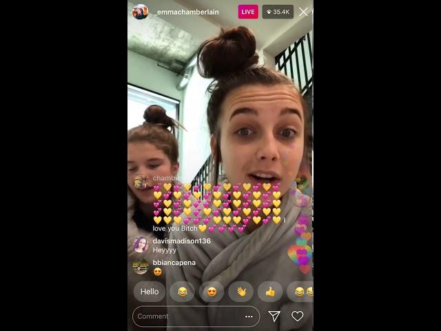 Emma Chamberlain Livestream 7/23/18 Part 1 - YouTube