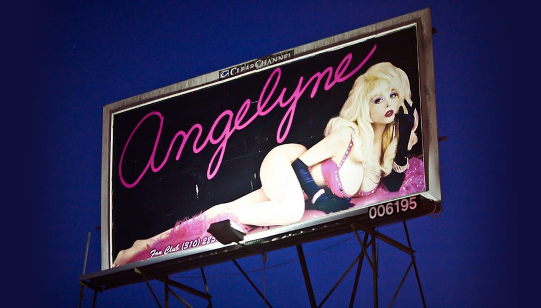 Image result for angelyne billboard