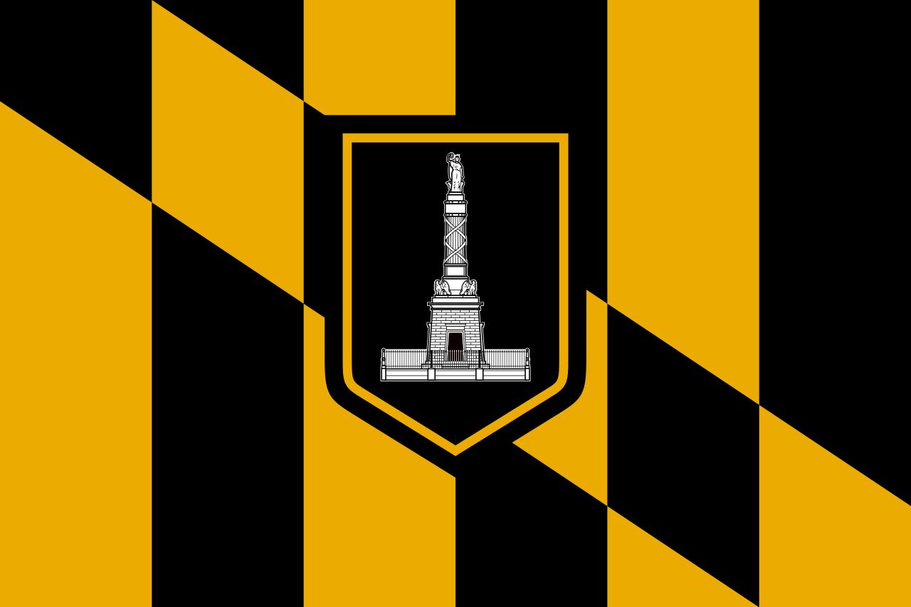 Flag of Baltimore, Maryland.svg