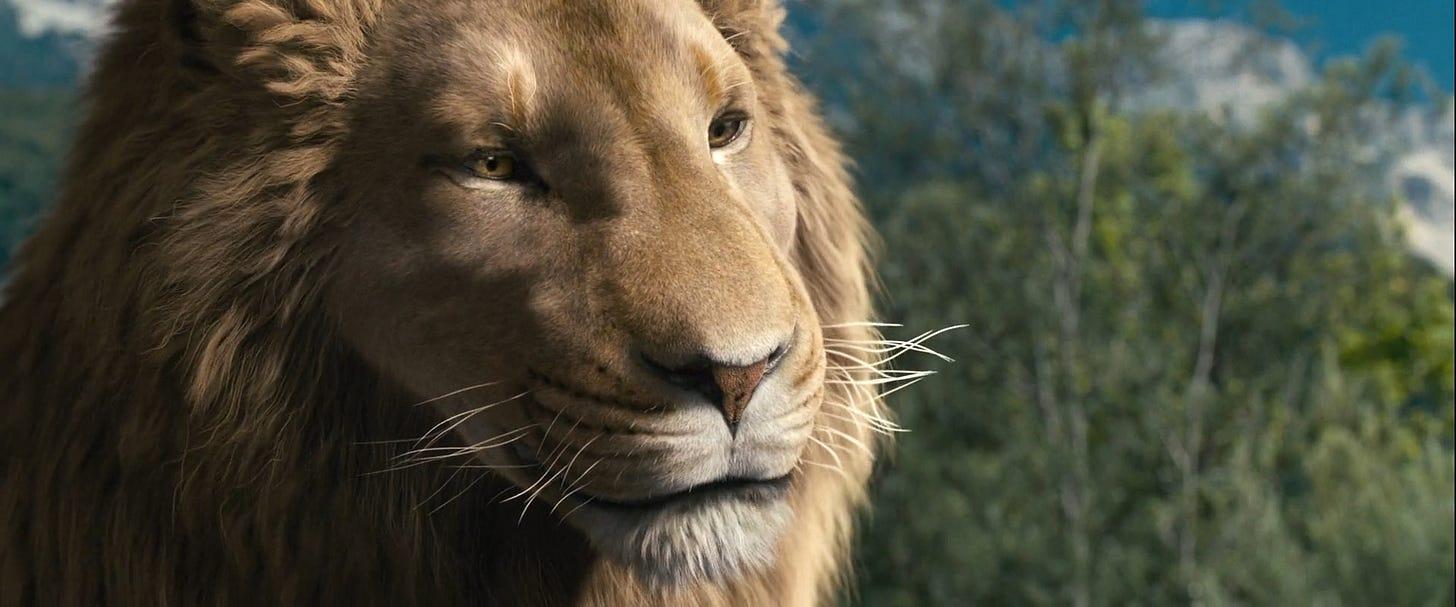 Prince Caspian-Aslan 4 by GiuseppeDiRosso on DeviantArt